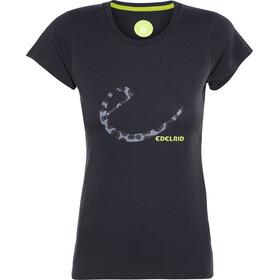 Edelrid Signature - T-shirt manches courtes Femme - noir